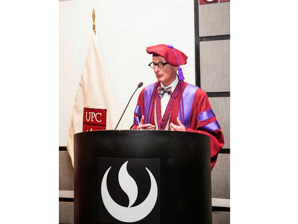UPC lamenta el sensible fallecimiento del gurú mundial del branding y distinguido Profesor Honorario de nuestra universidad, Wally Olins
