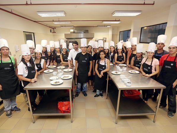 UPC realizó Master Class con el reconocido chef Virgilio Martínez