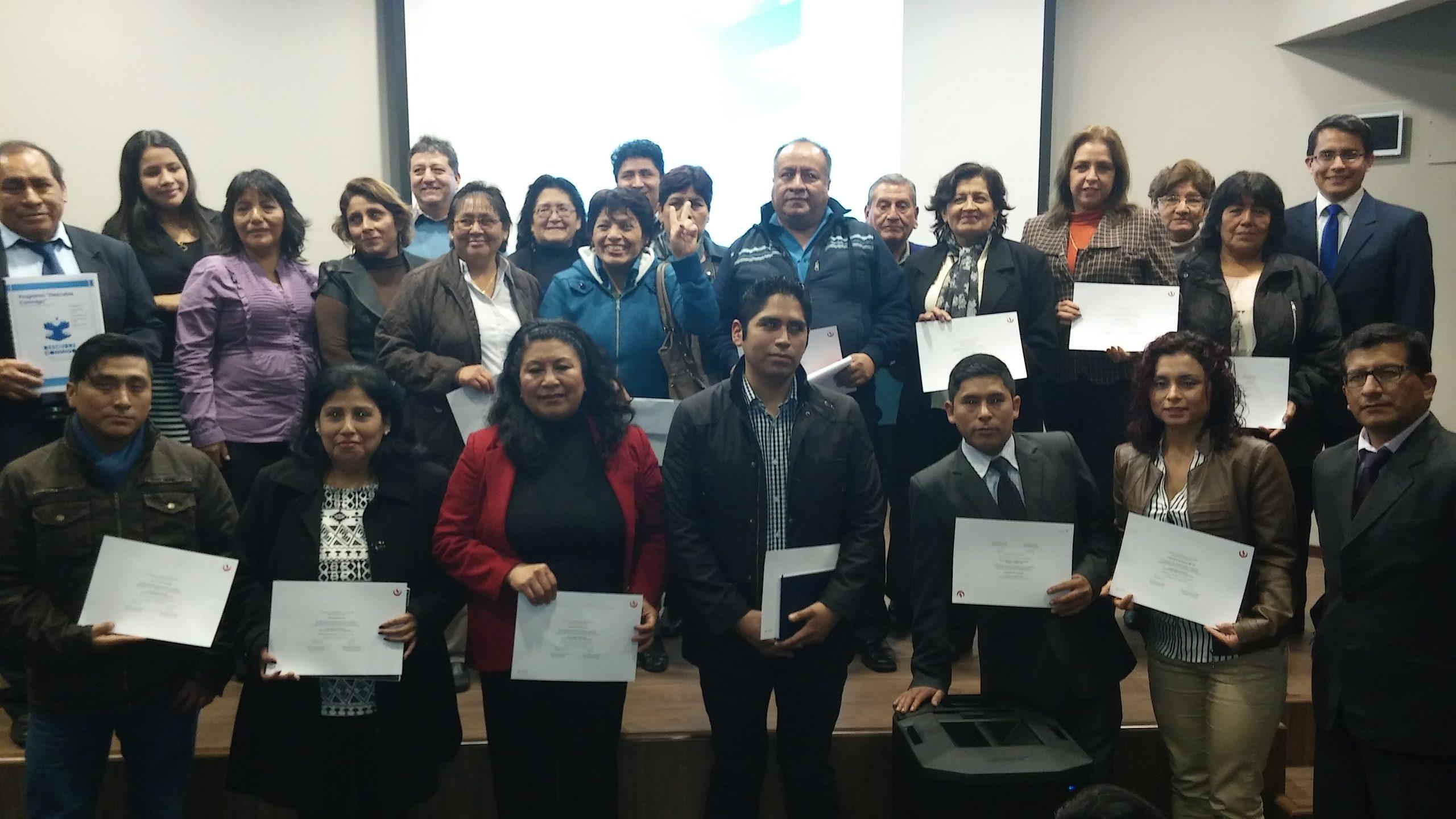 La carrera de Contabilidad y Administración de la UPC realizó capacitación para microempresarios de Lima