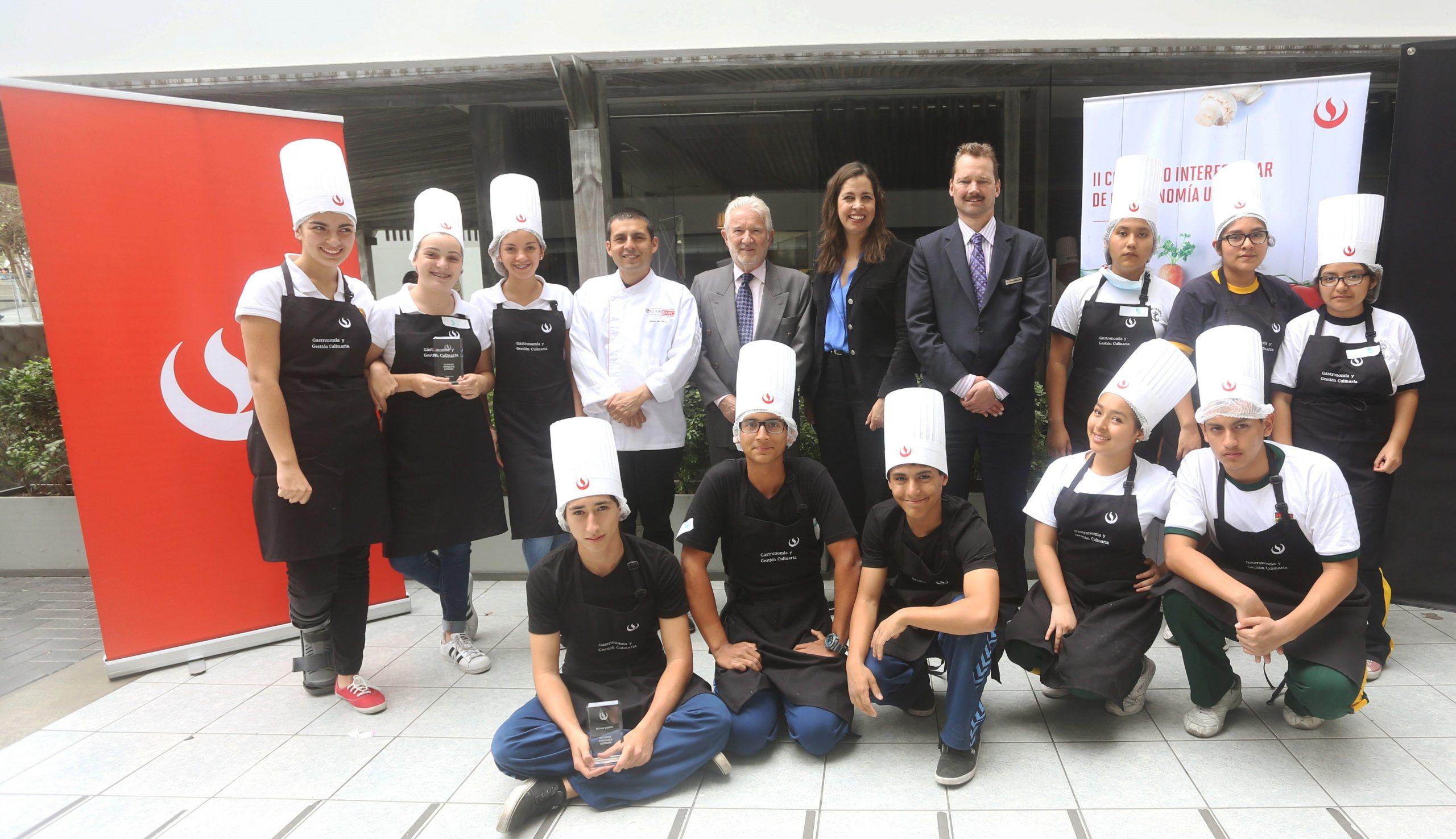 Carrera de Gastronomía y Gestión Culinaria UPC organizó el II Concurso Interescolar de Gastronomía a nivel nacional