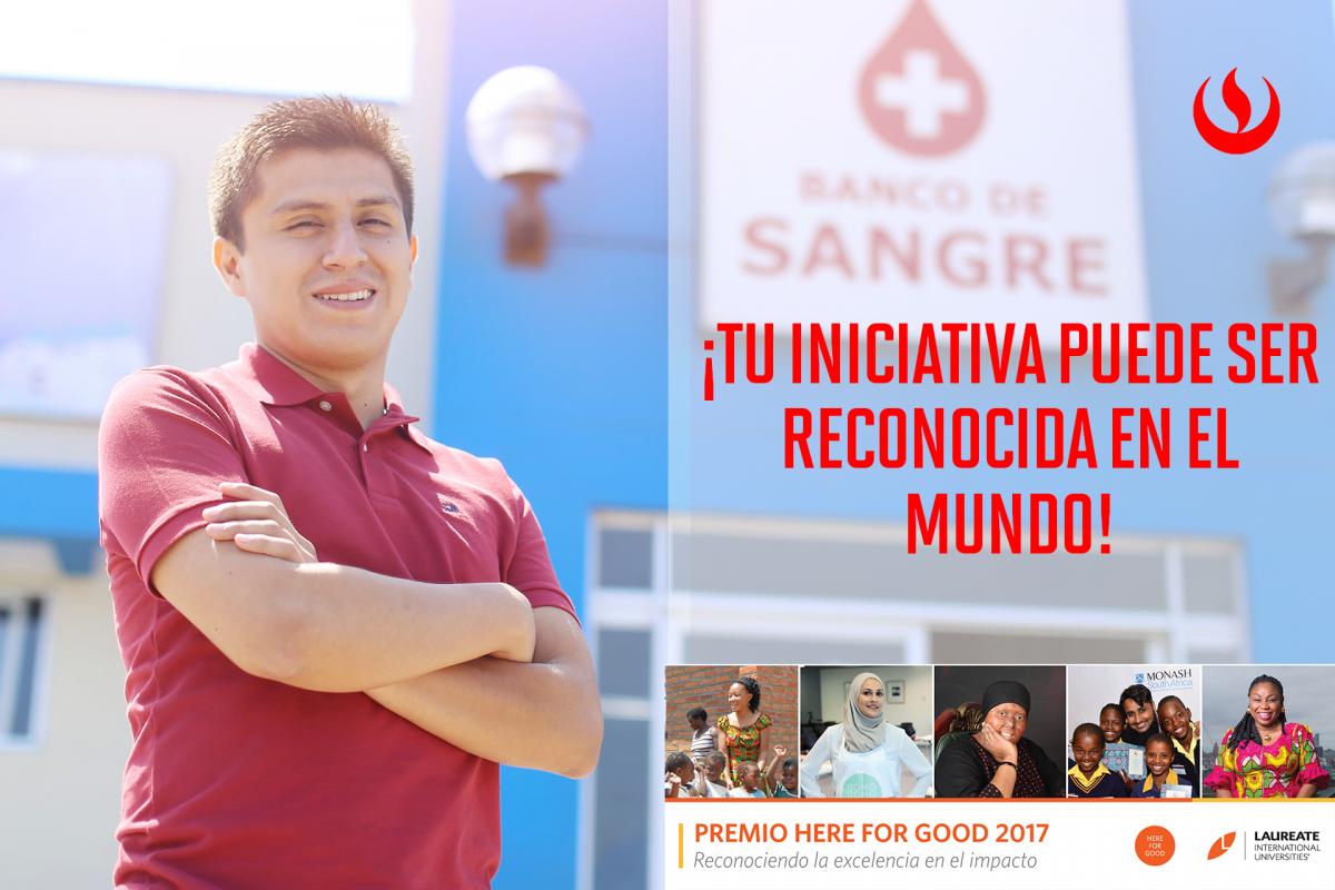 UPC inicia convocatoria para el Premio Here for Good 2017
