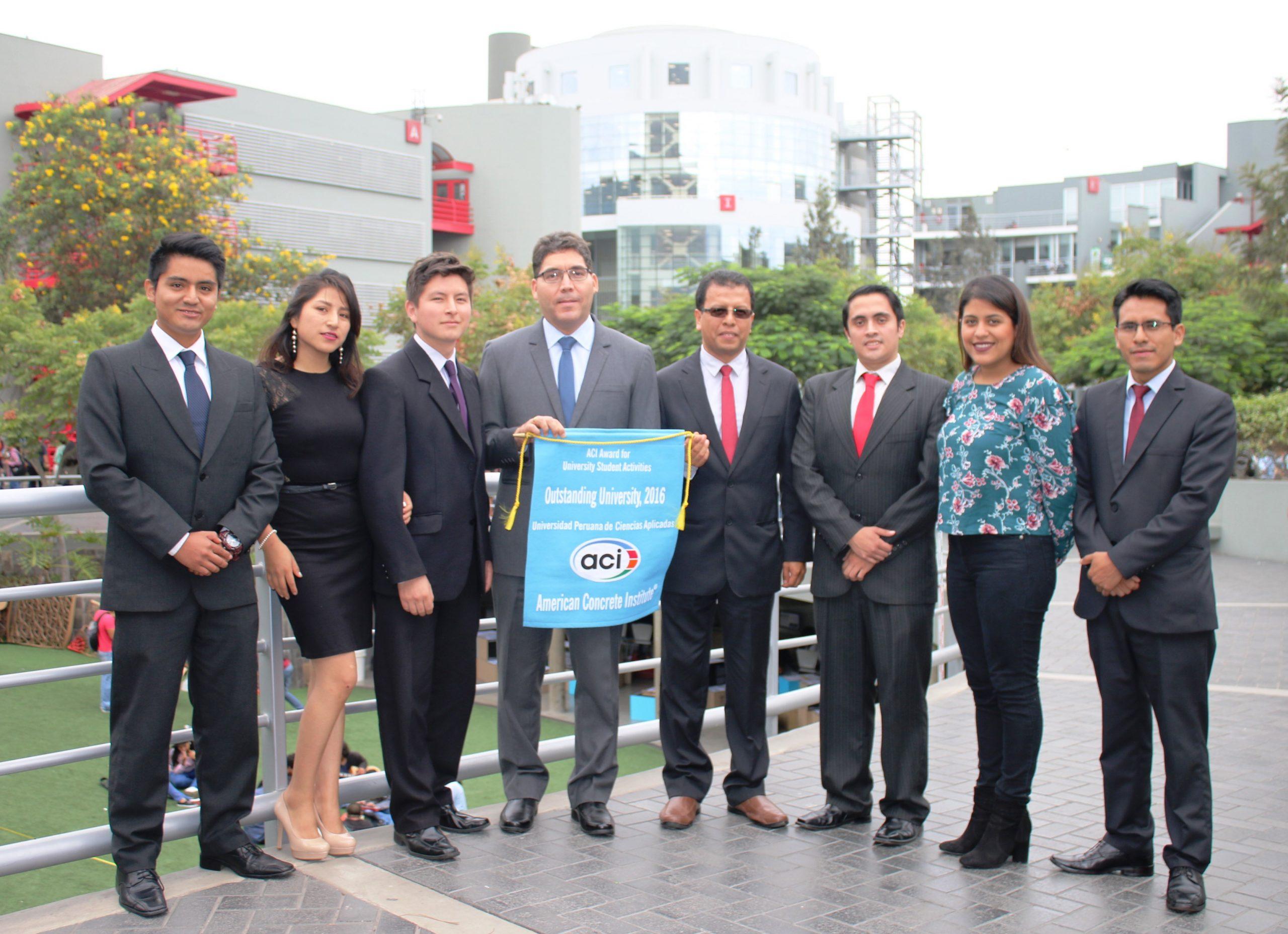 Alumnos de ingeniería civil de la upc obtuvieron reconocimiento internacional de ACI