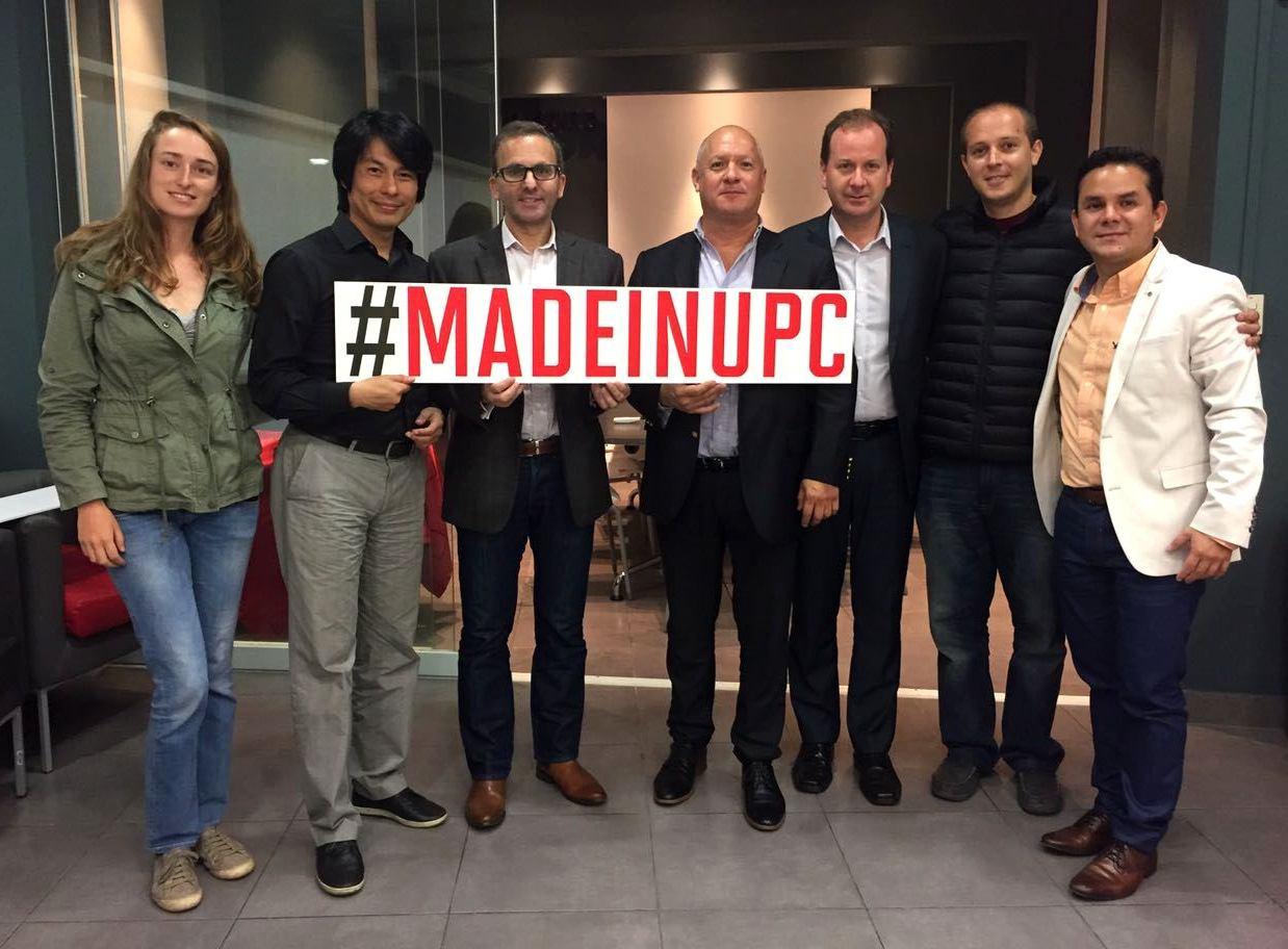 """UPC presenta a las cinco startups ganadoras de su programa """"Made in UPC"""""""