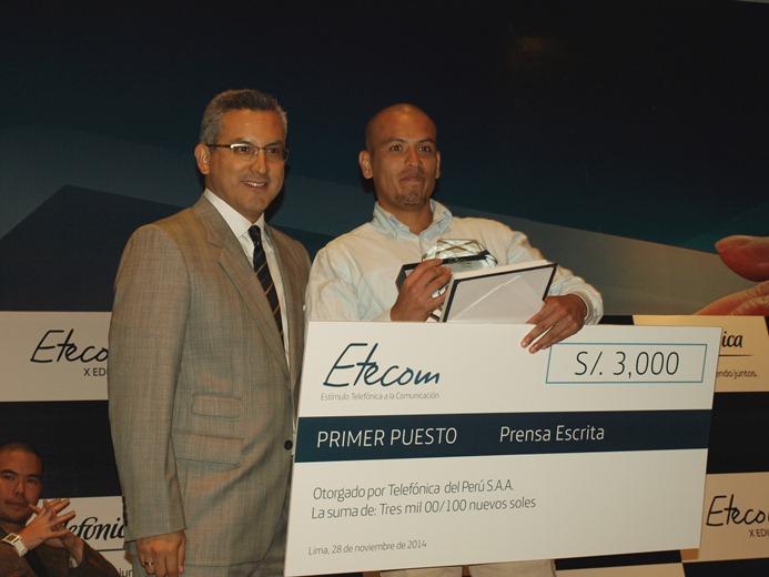 Facultad de Comunicaciones UPC destacó en el concurso ETECOM 2014