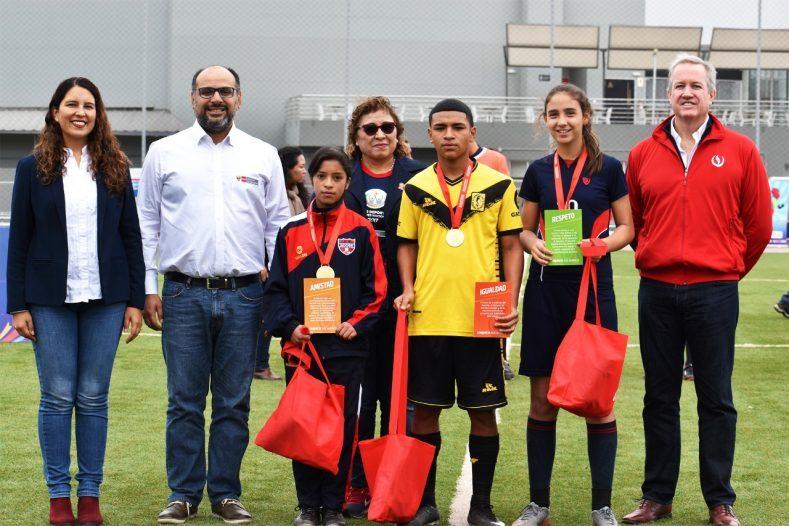 Cierre de los Juegos Deportivos Escolares en la UPC