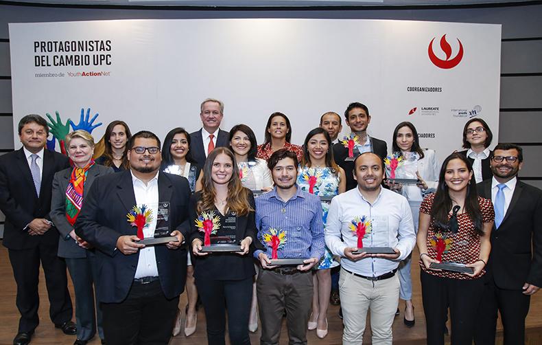 La UPC presentó a los ganadores de Protagonistas del Cambio 2018