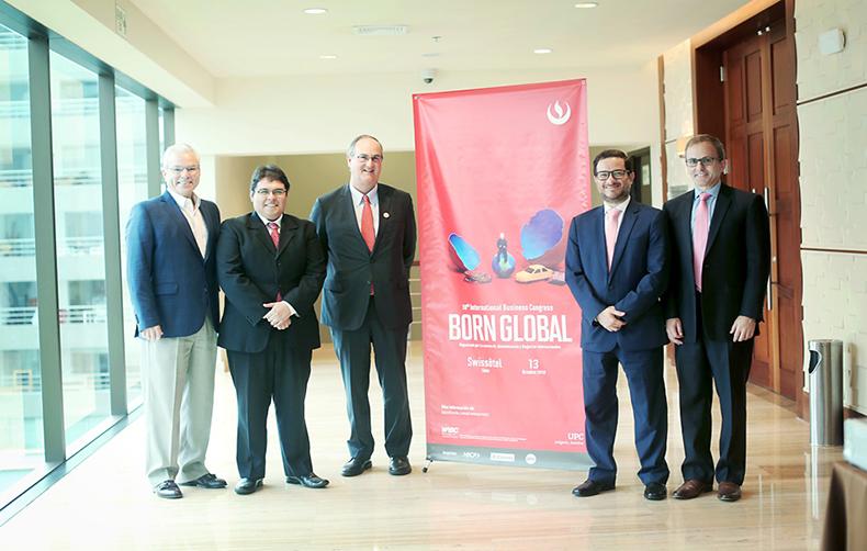 UPC organizó el 10th International Business Congress: Born Global