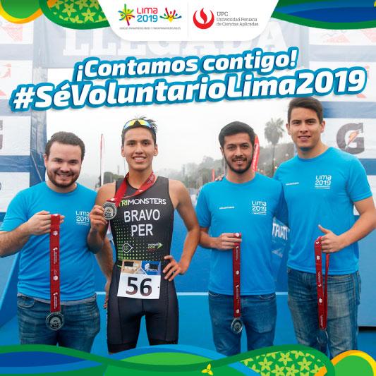 Lima 2019 invita a alumnos de la UPC a ser voluntarios