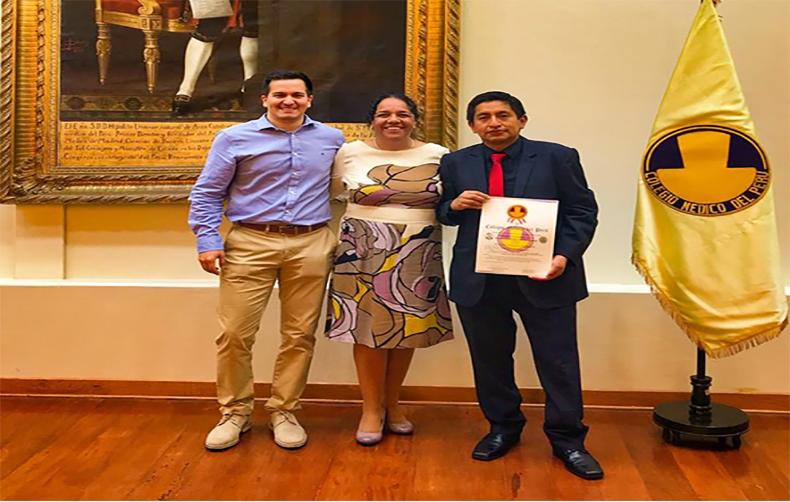 Profesores de la UPC son ganadores del Premio Nacional a la Investigación Médica 2018