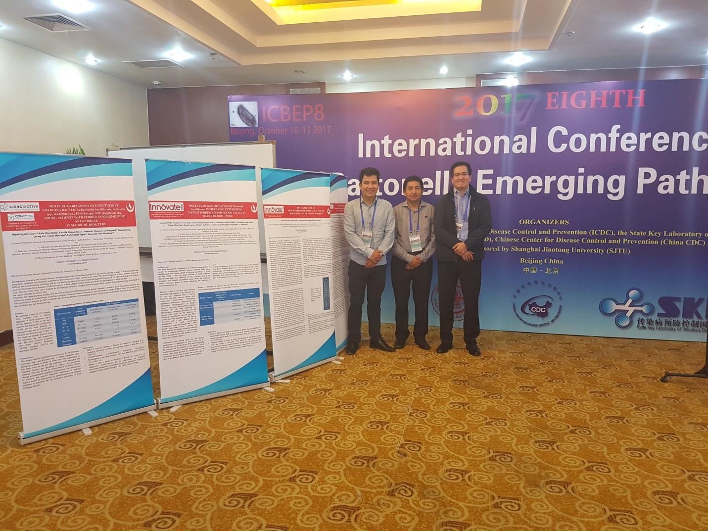 Investigadores UPC en Conferencia Internacional realizada en Beijing – China