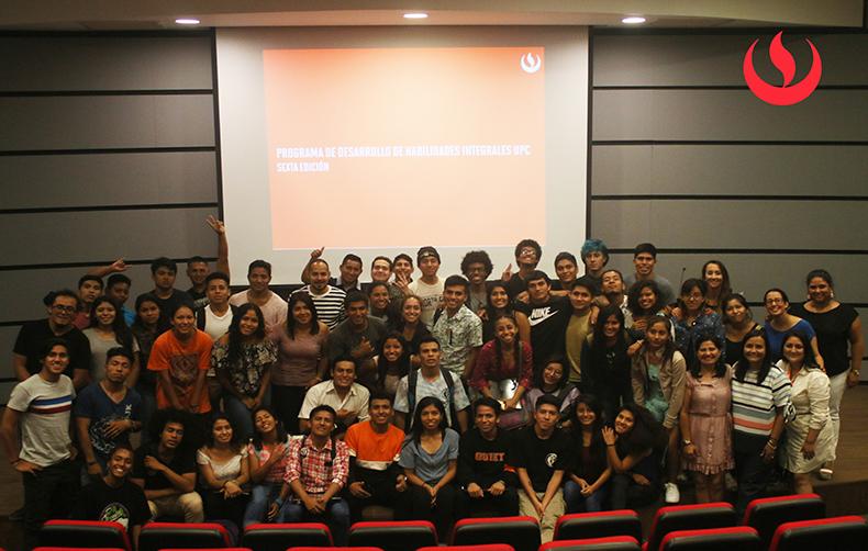 UPC inició la sexta edición del Programa de Desarrollo de Habilidades Integrales con la Asociación Cultural D1