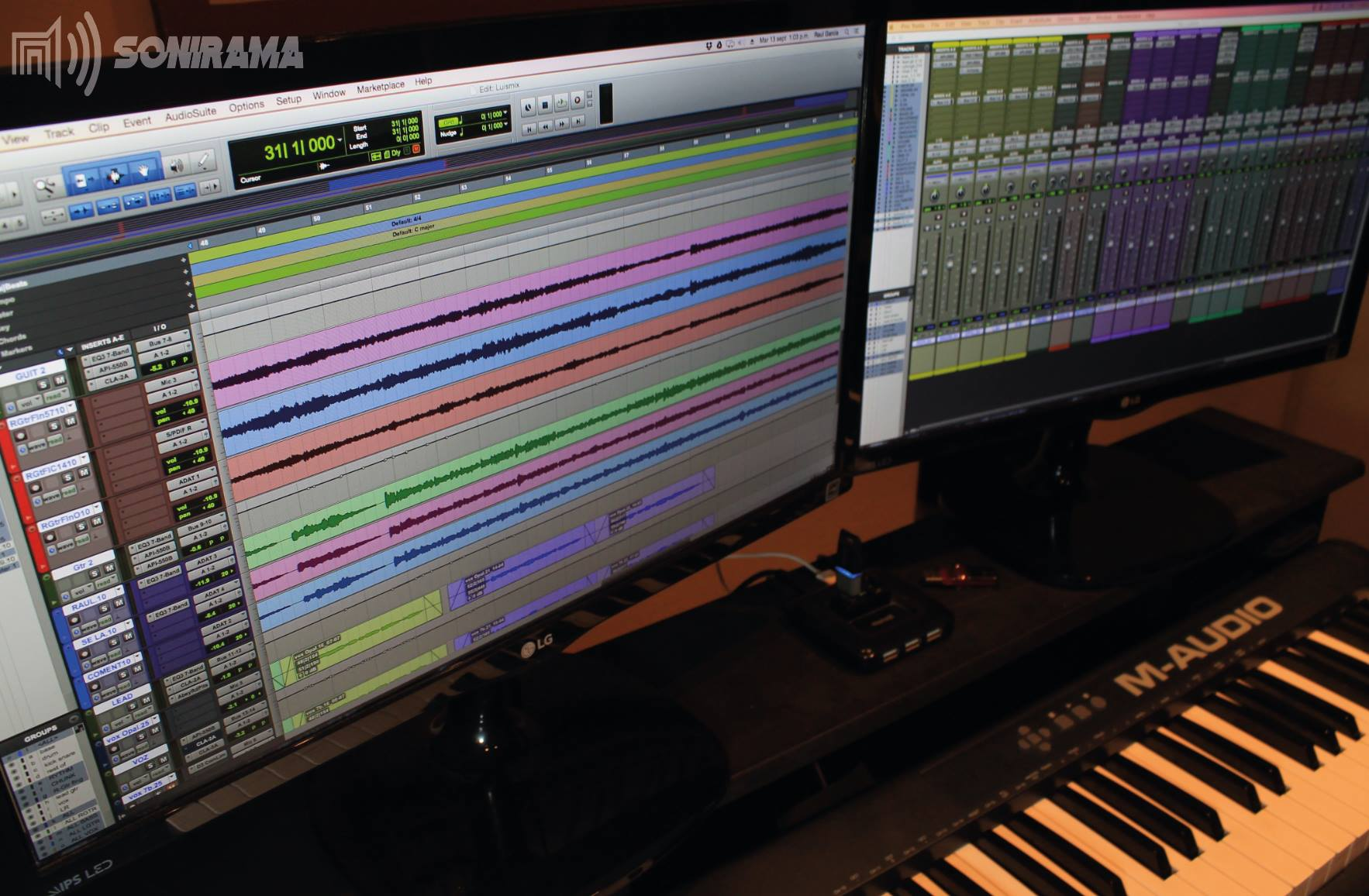 De un estudio de grabación a una escuela de música: Raúl García cuenta su historia