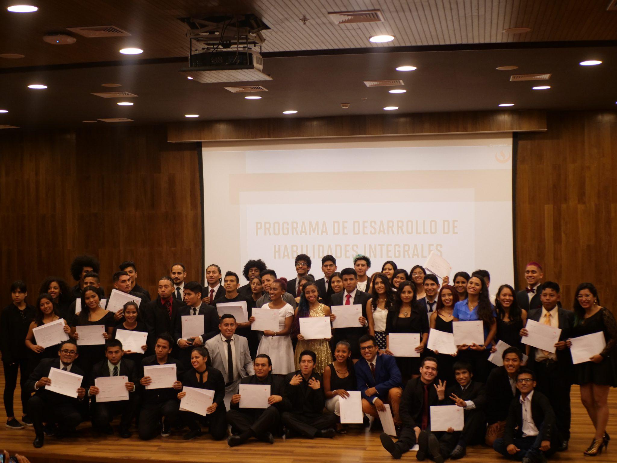 Se realizó la clausura de la sexta edición del Programa de Desarrollo de Habilidades Integrales UPC