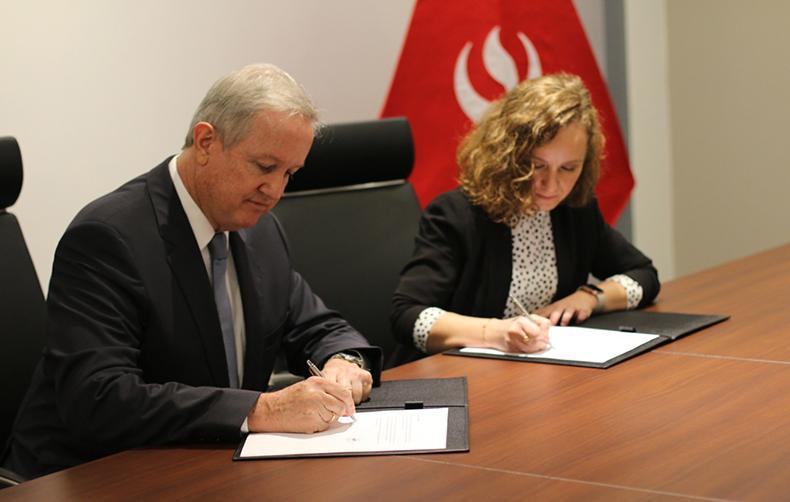 UPC firma convenio con SACYR para oportunidades laborales