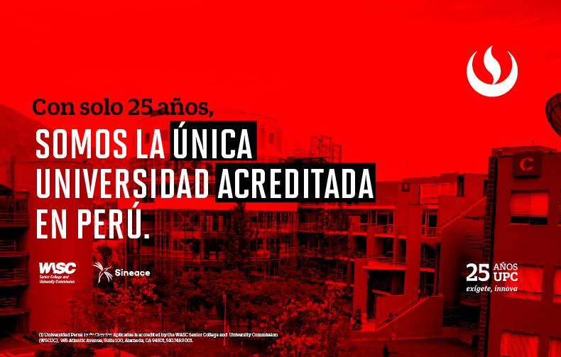 Sineace reconoció acreditación institucional WASC de la UPC