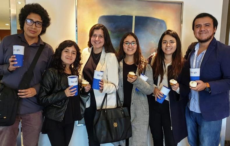 Alumnos de la Carrera de Administración y Maketing participaron  la V edición de Grow with Google