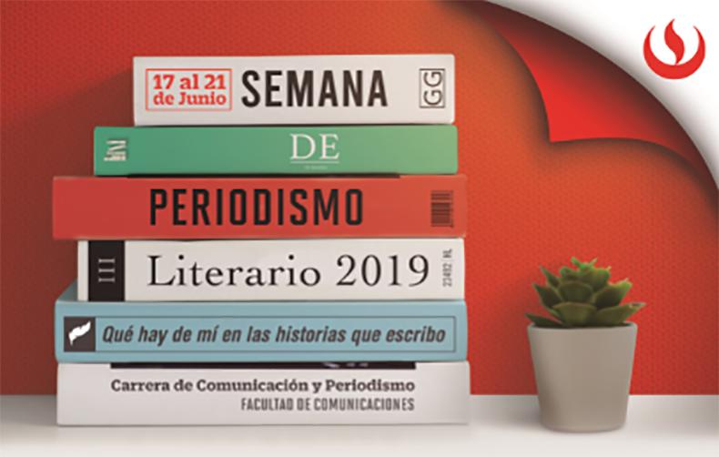 Carrera de Comunicación  y Periodismo organiza la Semana de Periodismo Literario