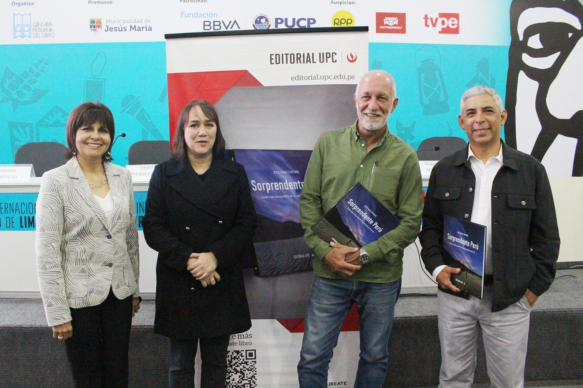 """Presentación del libro """"Sorprendente Perú"""""""