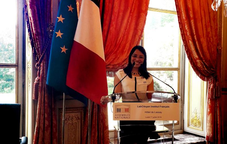 Alumna UPC representa al Perú en el programa LabCitoyen 2019 en Francia