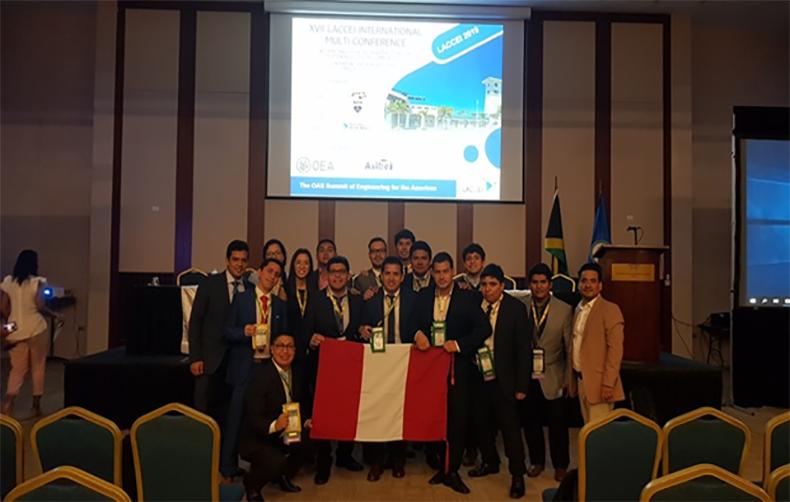 UPC participó de la 17° Multi-Conferencia Internacional para Ingeniería, Educación, y Tecnología - LACCEI 2019