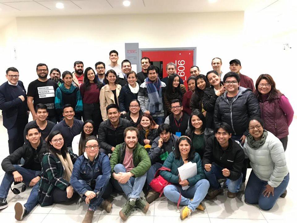 Retreat de ganadores de la 9.ª generación de Protagonistas del Cambio UPC