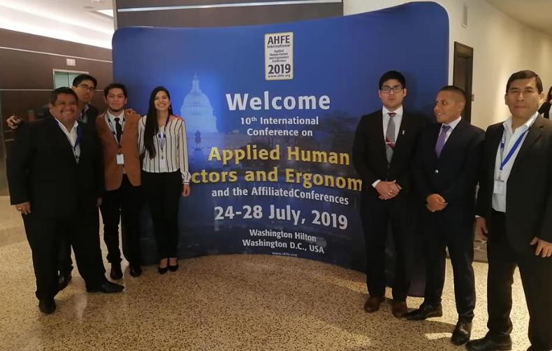 UPC participó en Conferencia Internacional de Factor Humano y Ergonomía