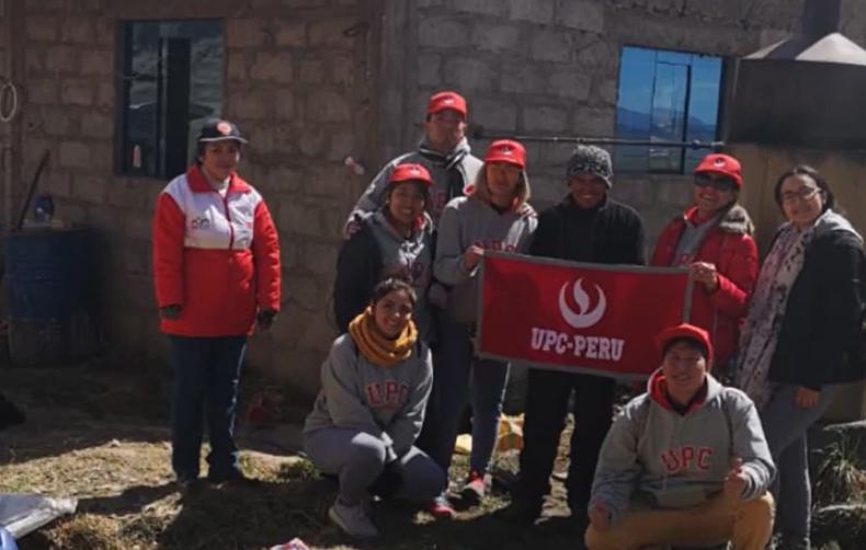 Alumnos de la Facultad de Economía de la UPC participaron en voluntariado en Puno