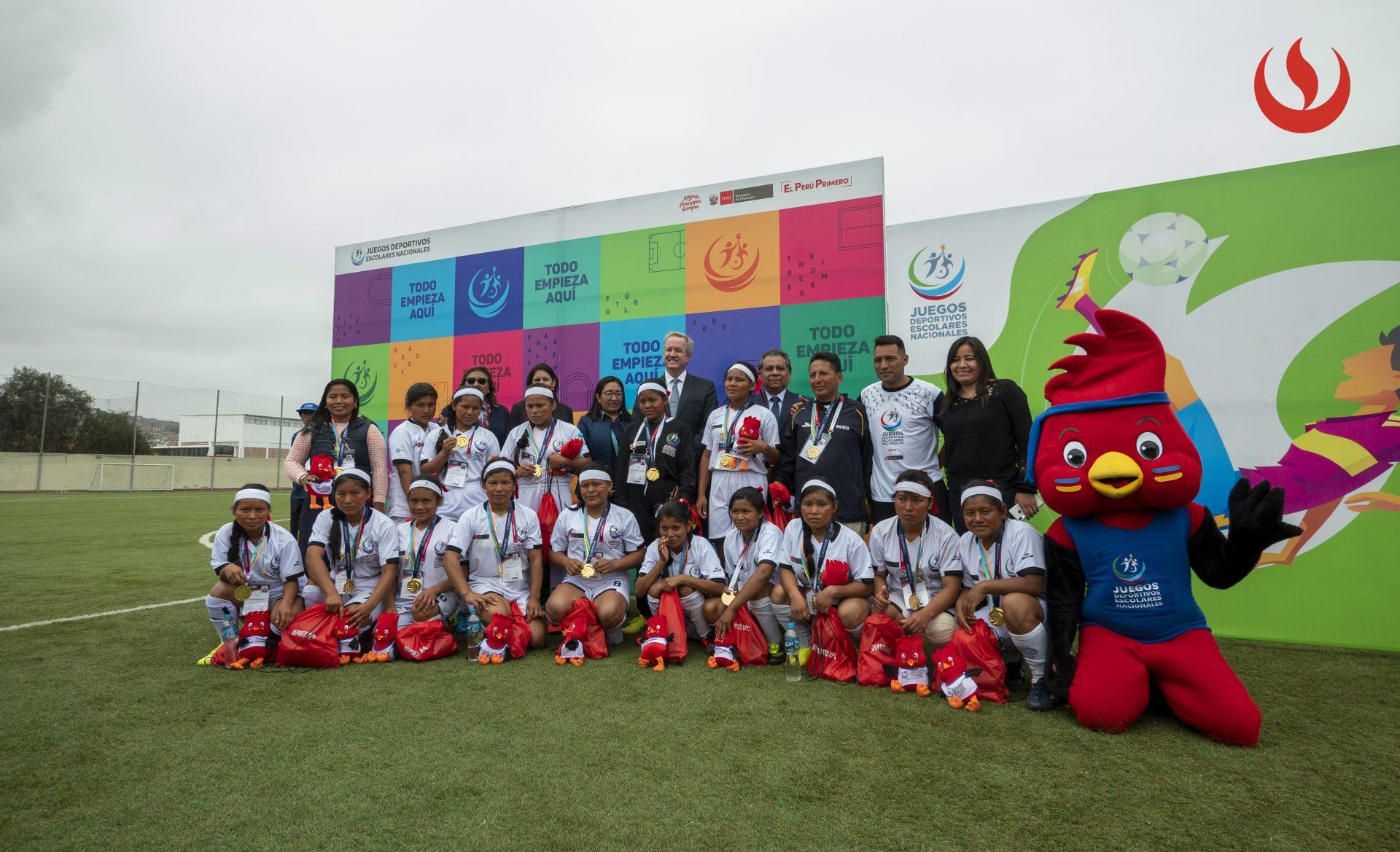 Lo mejor del Torneo escolar de fútbol femenino de pueblos originarios