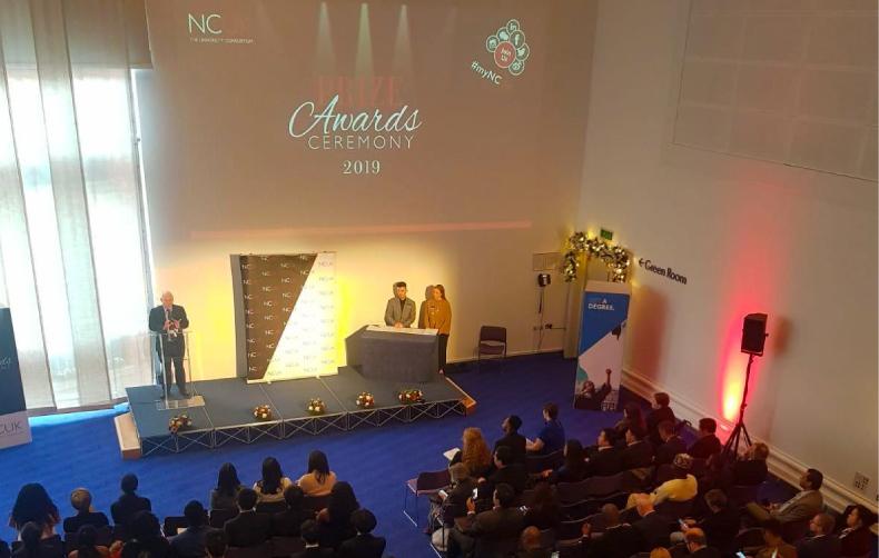 Alumnos de la primera promoción UPC-NCUK fueron premiados en el Reino Unido