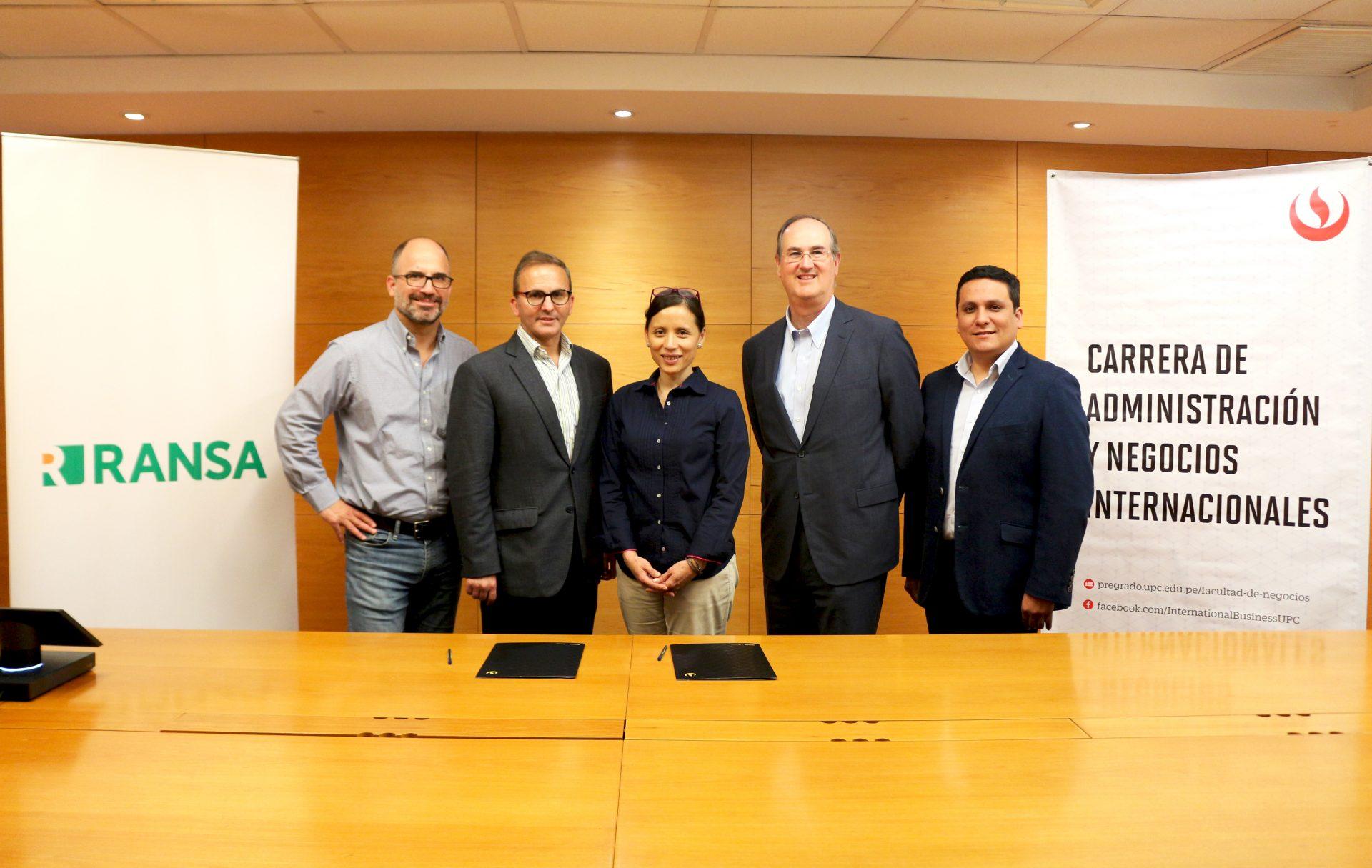 UPC firma convenio con RANSA promoviendo el desarrollo científico