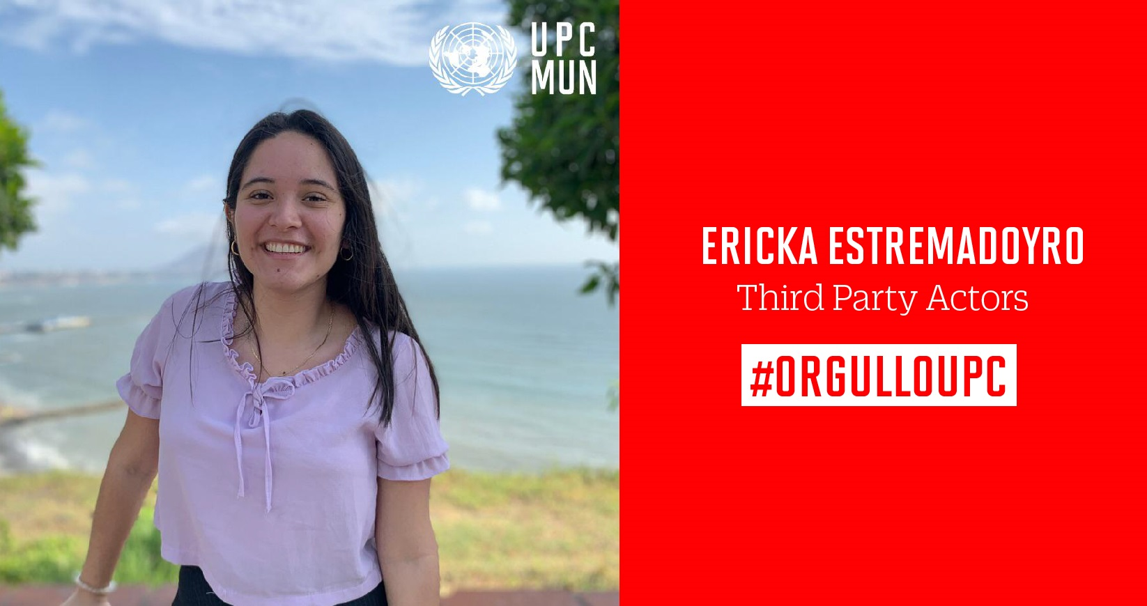 Alumna UPC obtiene 1er puesto en Harvard National Model United Nations LA 2020