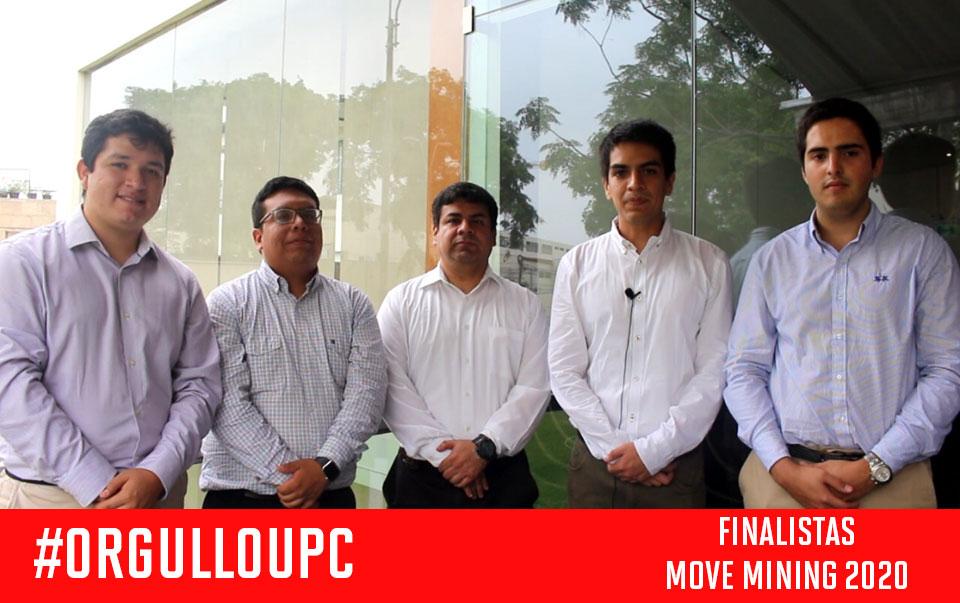 Alumnos de Ingeniería y Gestión Minera son finalistas en concurso internacional