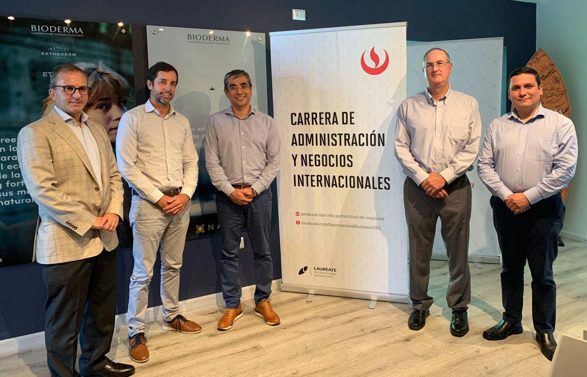 UPC firma convenio con multinacional NAOS