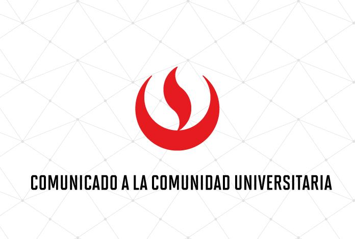 Comunicado UPC a la comunidad universitaria