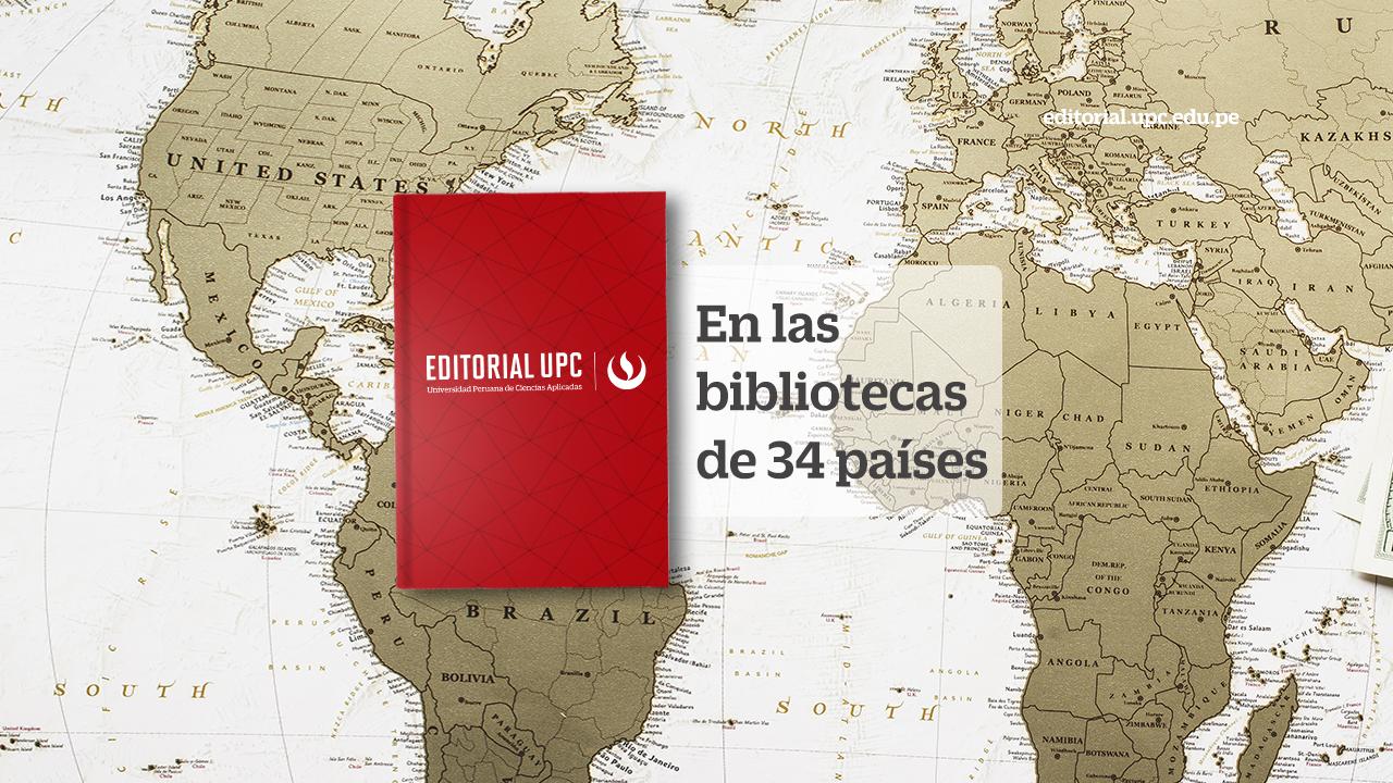 Editorial UPC en las bibliotecas de 34 países