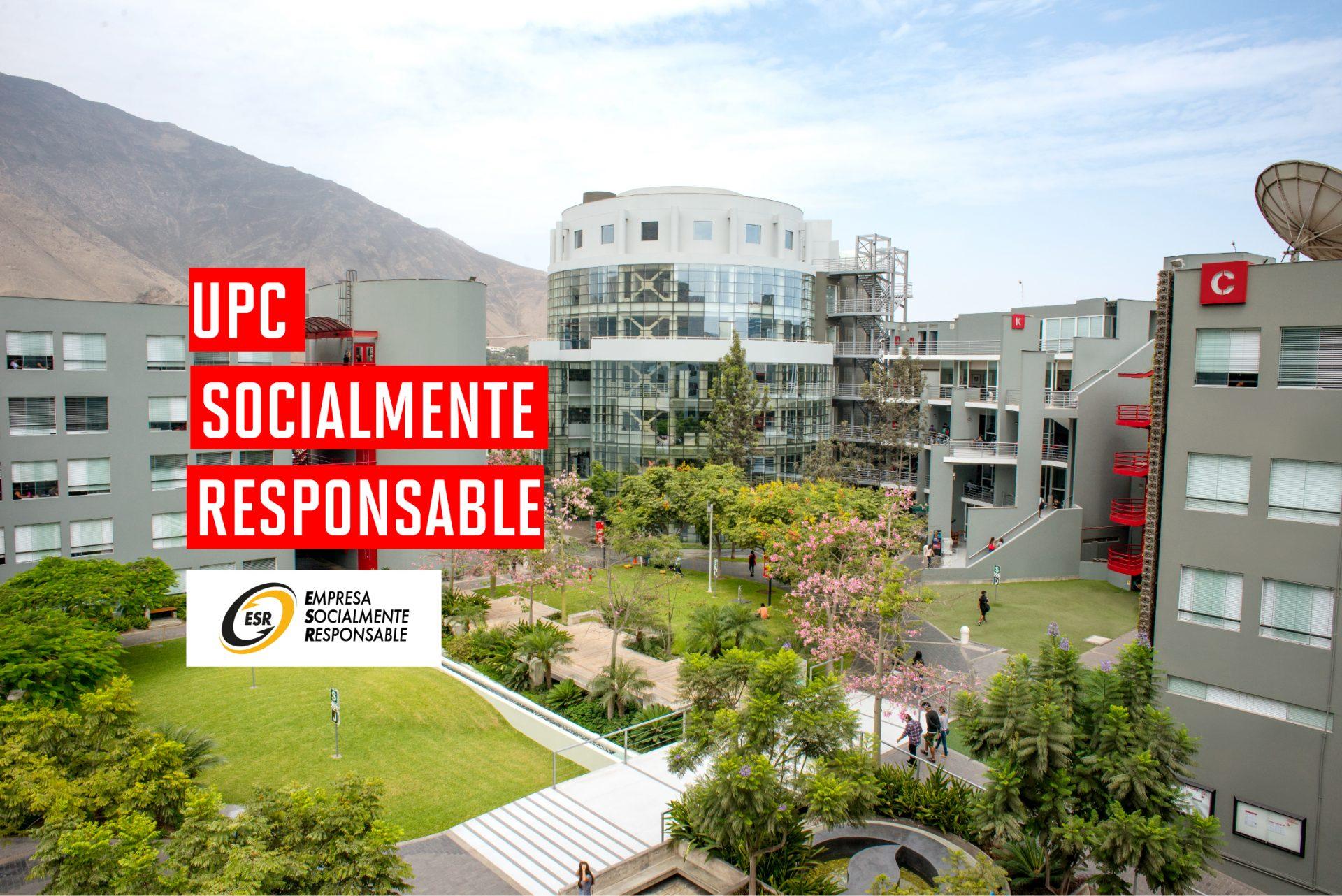 UPC recibe reconocimiento a su gestión sostenible y socialmente responsable