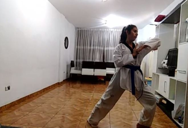 #DeportesUPC: Taekwondo UPC ocupa los primeros lugares del II Tope Virtual de Poomsae