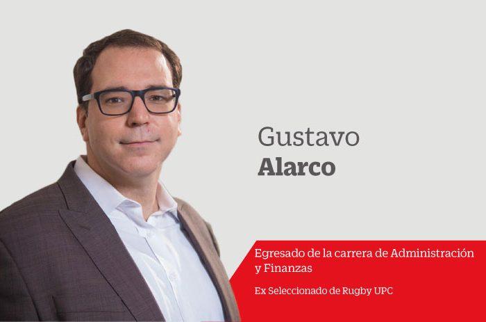 """Gustavo Alarco comparte su historia con la comunidad UPCina """"No importa que tan lejos lleguen, lo que importa es la calidad de la experiencia que vivan."""""""
