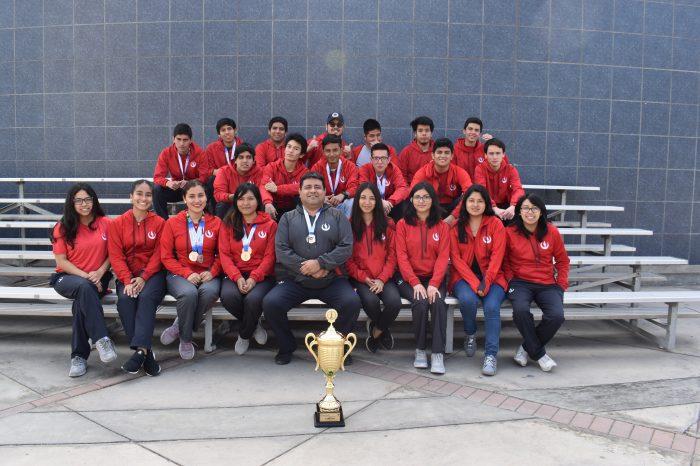 #DeportesUPC: La selección de Ajedrez UPC logró ser campeón del torneo interuniversitario internacional