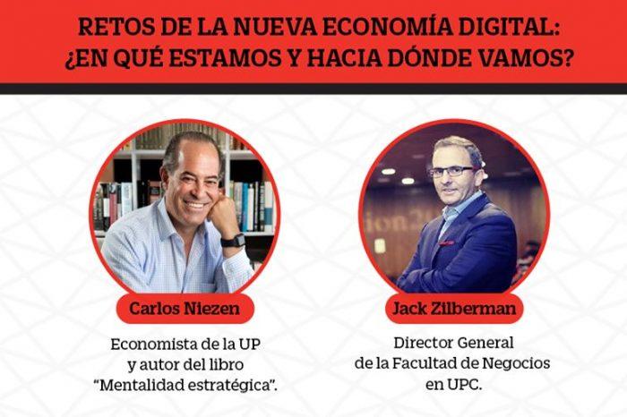 """Webinar: """"Retos de la nueva economía digital: ¿En qué estamos y hacia dónde vamos?"""""""
