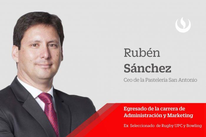 """Rubén Sanchez comparte su historia con la comunidad UPCina: """"Ser disciplinado es una promesa que nos hacemos a nosotros mismos"""""""