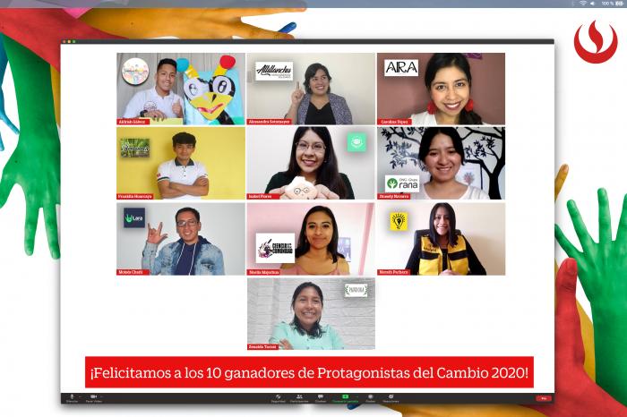 10 jóvenes emprendedores sociales ganan la 10.ª edición de Protagonistas del Cambio UPC
