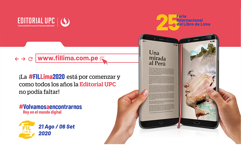 Editorial UPC en FIL 2020 - Volvamos a encontrarnos
