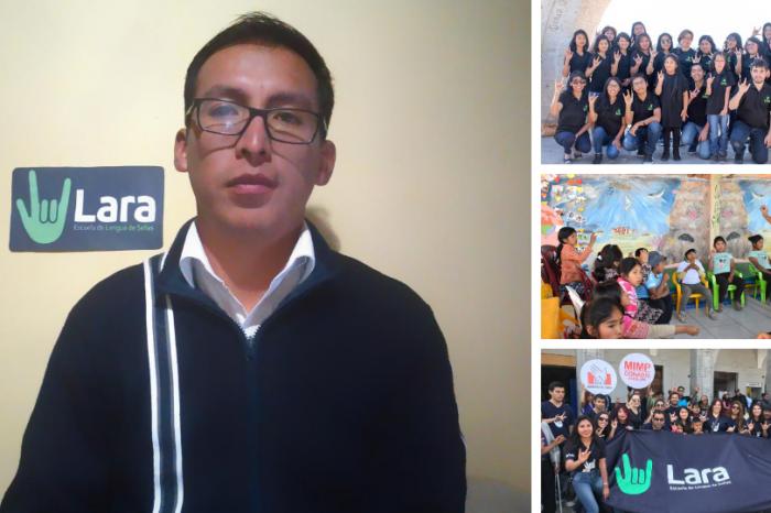 LARA: Escuela señas que contribuye con la inclusión de las personas con discapacidad auditiva
