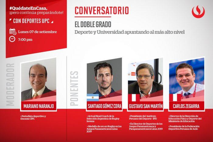 UPC presentó el conversatorio sobre Doble Grado: Deporte y Universidad apuntando al más alto nivel
