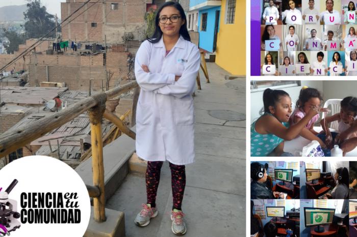 Ciencia en tu Comunidad: Iniciativa que comparte y divulga las ciencias básicas a niños y docentes escolares de sectores vulnerables