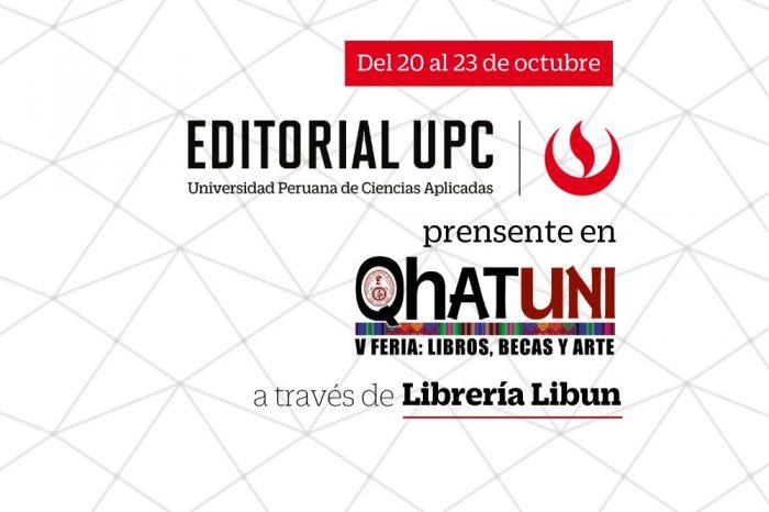 Editorial UPC participa en la Feria virtual de QHATUNI