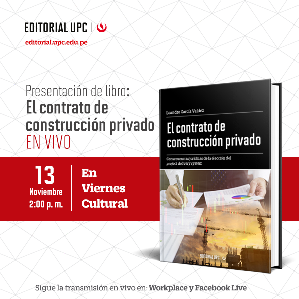 Presentación de libro: El contrato de construcción privado (EN VIVO)