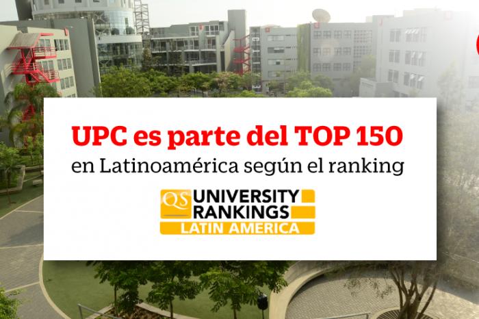 La UPC entre las 150 mejores universidades de Latinoamérica según QS Latam
