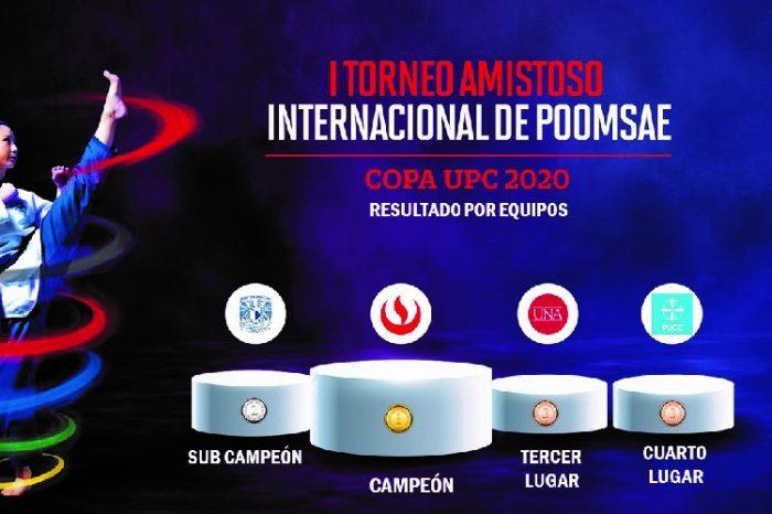 Deportes UPC: campeones del I Torneo Amistoso Internacional de Taekwondo - Poomsae